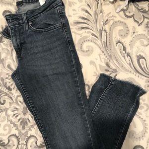 Light wash black jeans.